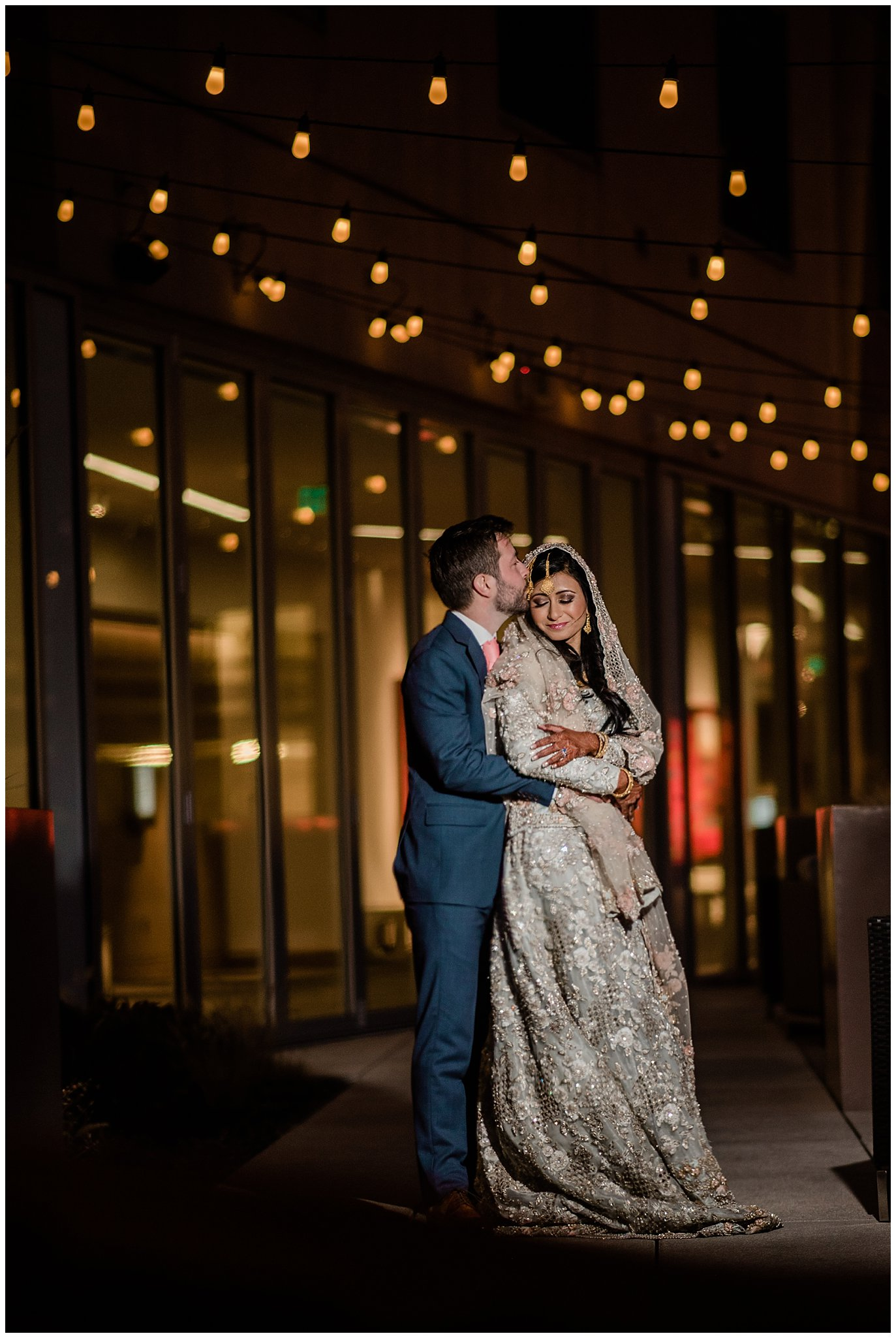 The Art Hotel Denver Nikah wedding photo