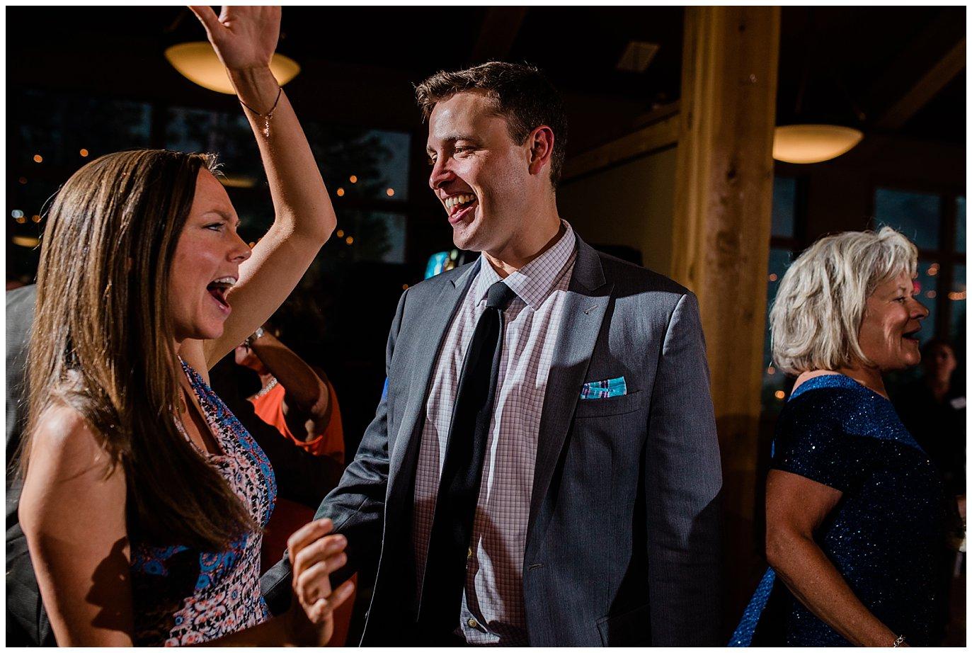 Black Mountain Lodge Wedding Reception photo