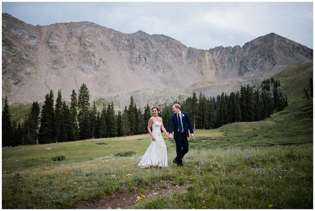 Arapahoe Basin Wedding photo