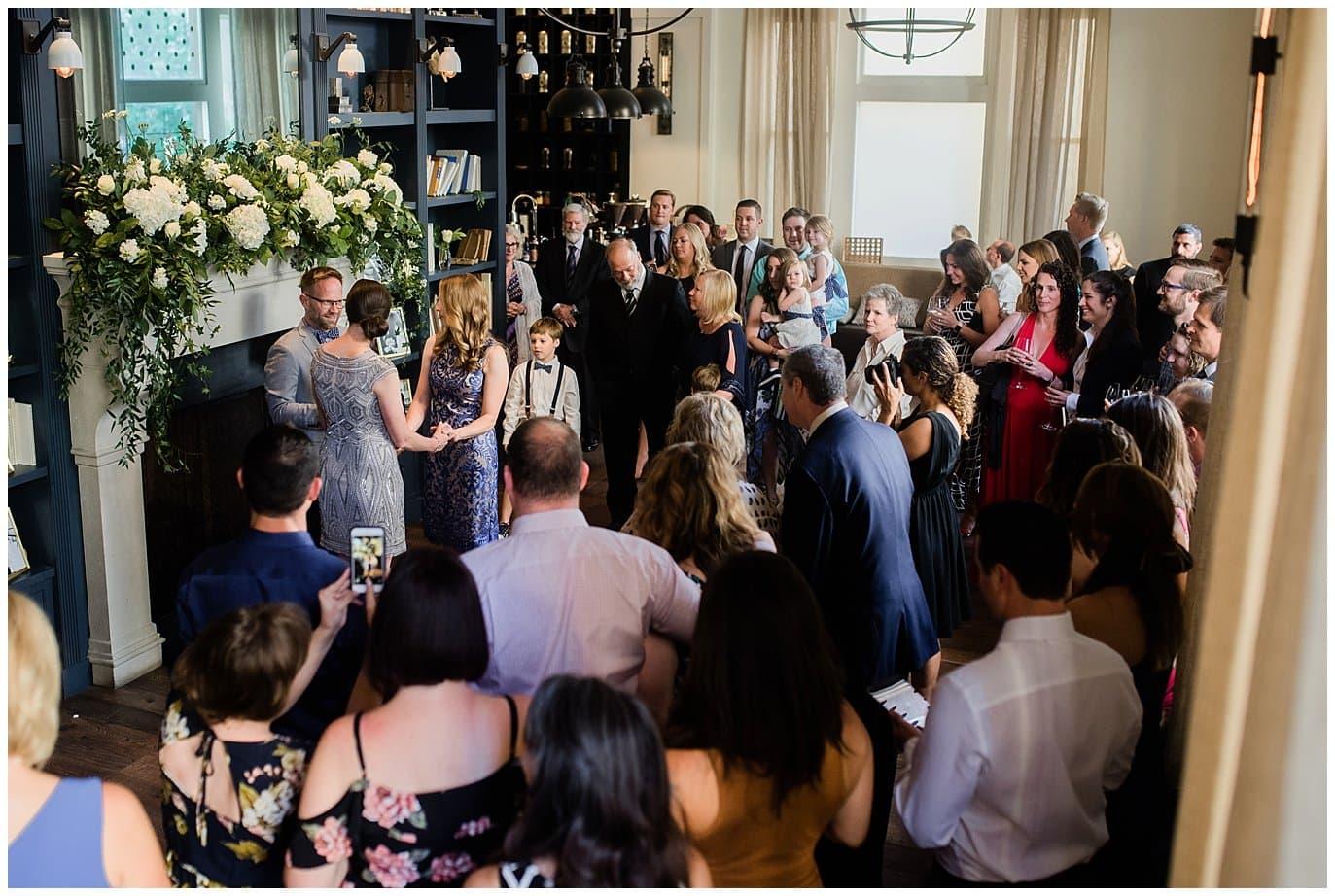 Hotel Teatro Library Wedding photo