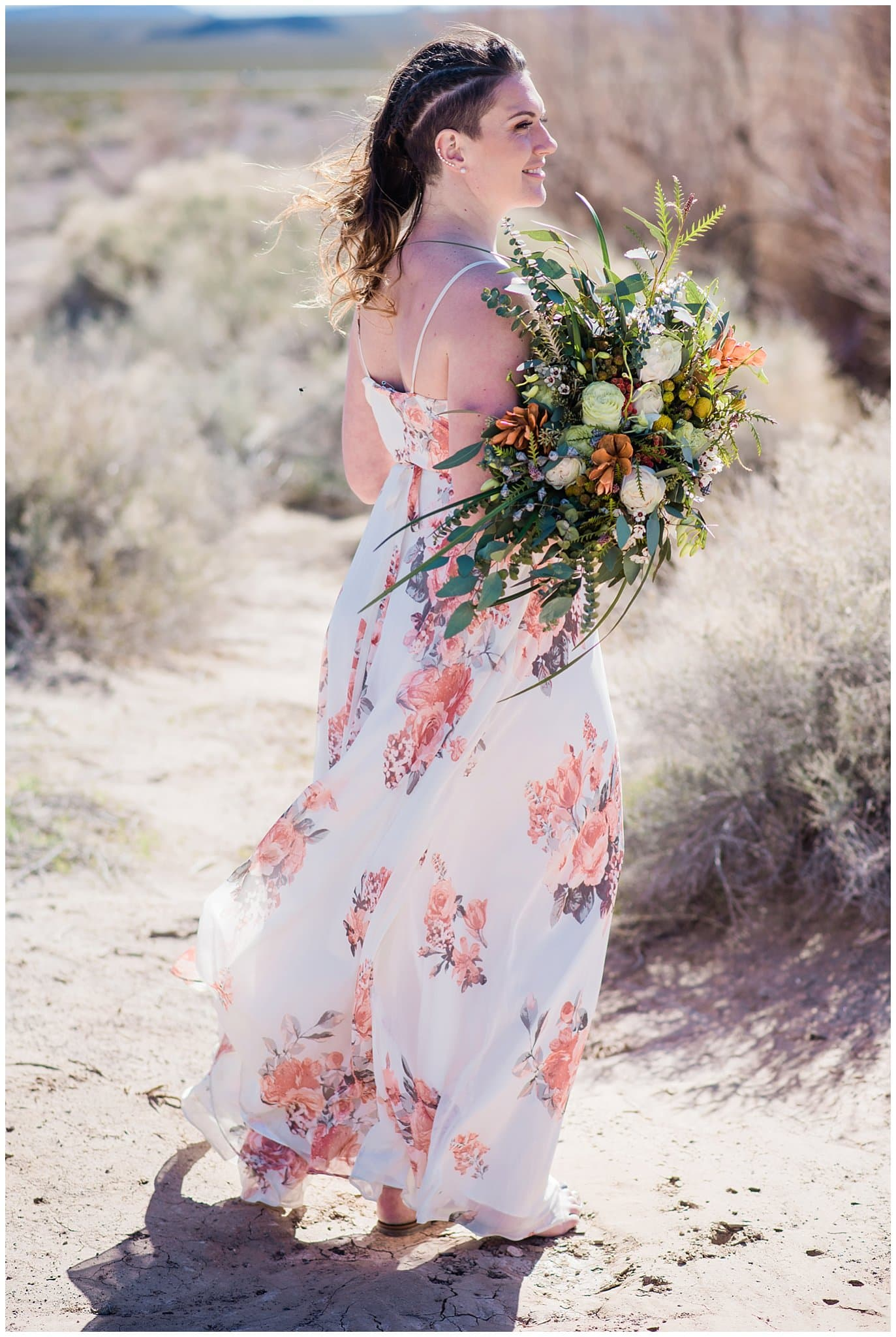 wild and free desert bridal flowers