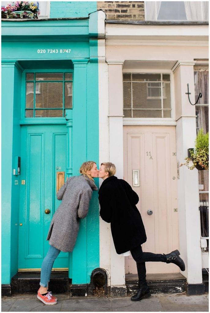 Notting Hill Engagement photo