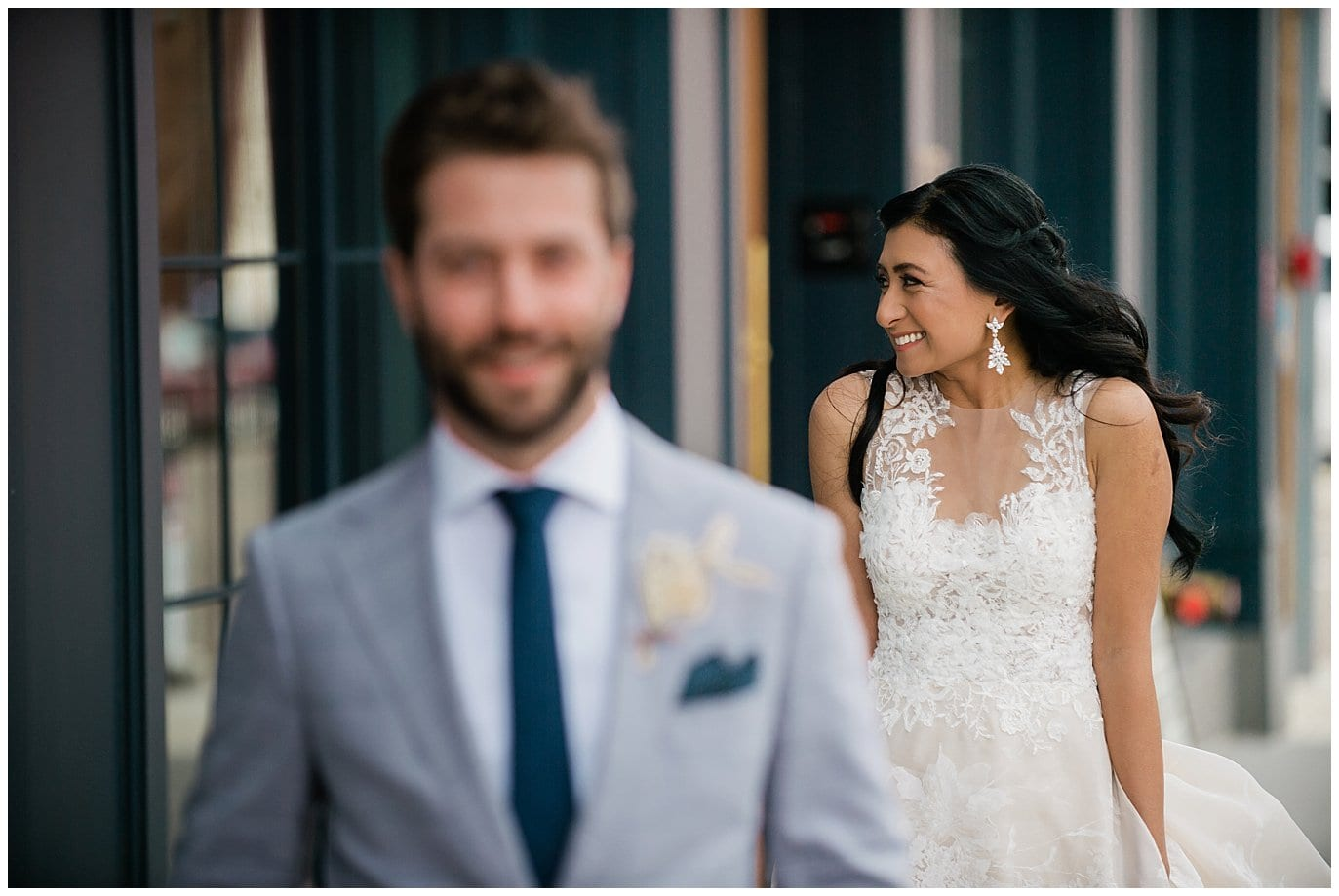 First look at the Ramble Hotel Denver by Blanc Wedding Photographer Jennie Crate
