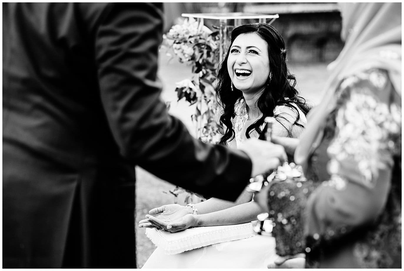 rose water blessing at blanc Denver multi-cultural wedding at Blanc Wedding by Denver Wedding Photographer Jennie Crate