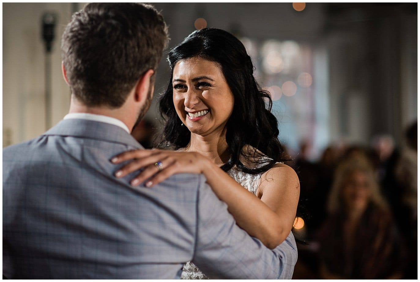 first dance by Blanc Wedding Photographer Jennie Crate