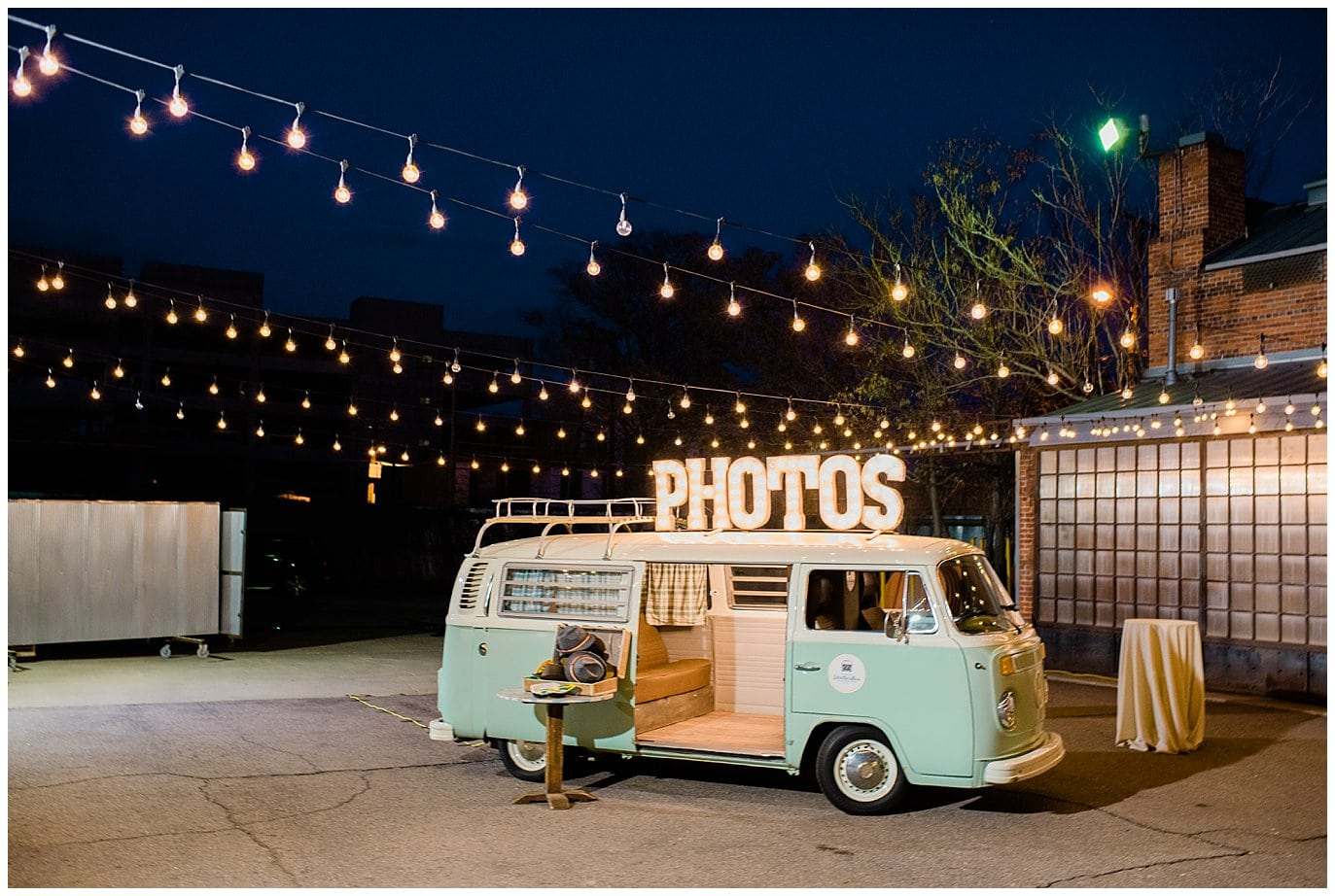blanc Denver wedding photographer captures shutter bus at twilight by Jennie Crate