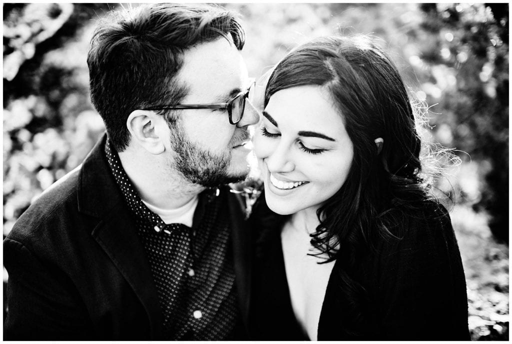 intimate Colorado engagement by Denver engagement photo Jennie Crate