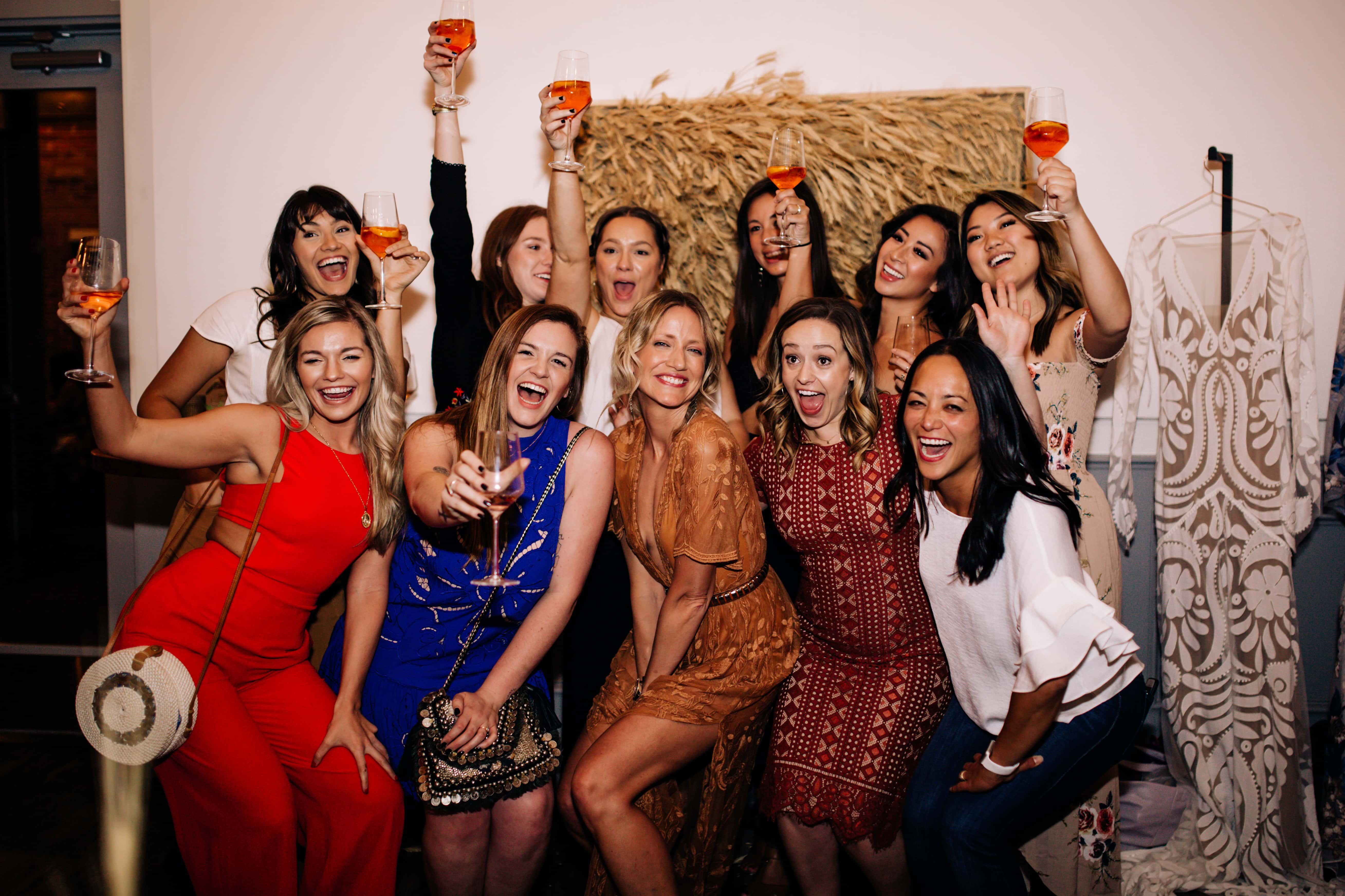 a and bé bridal shop team photo