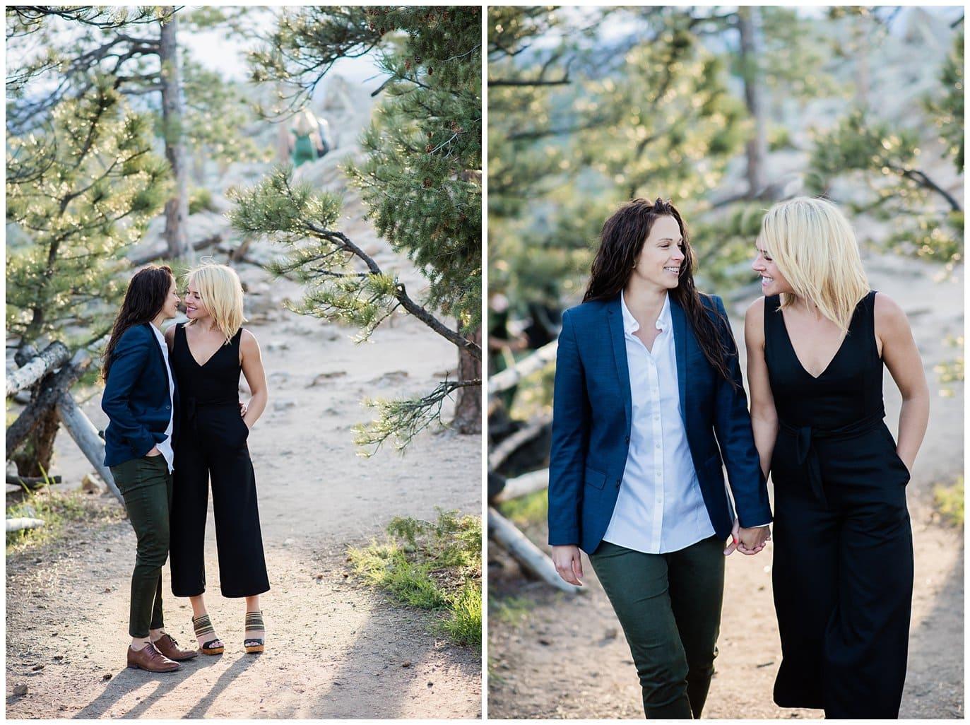 LGBT Boulder Engagement photo
