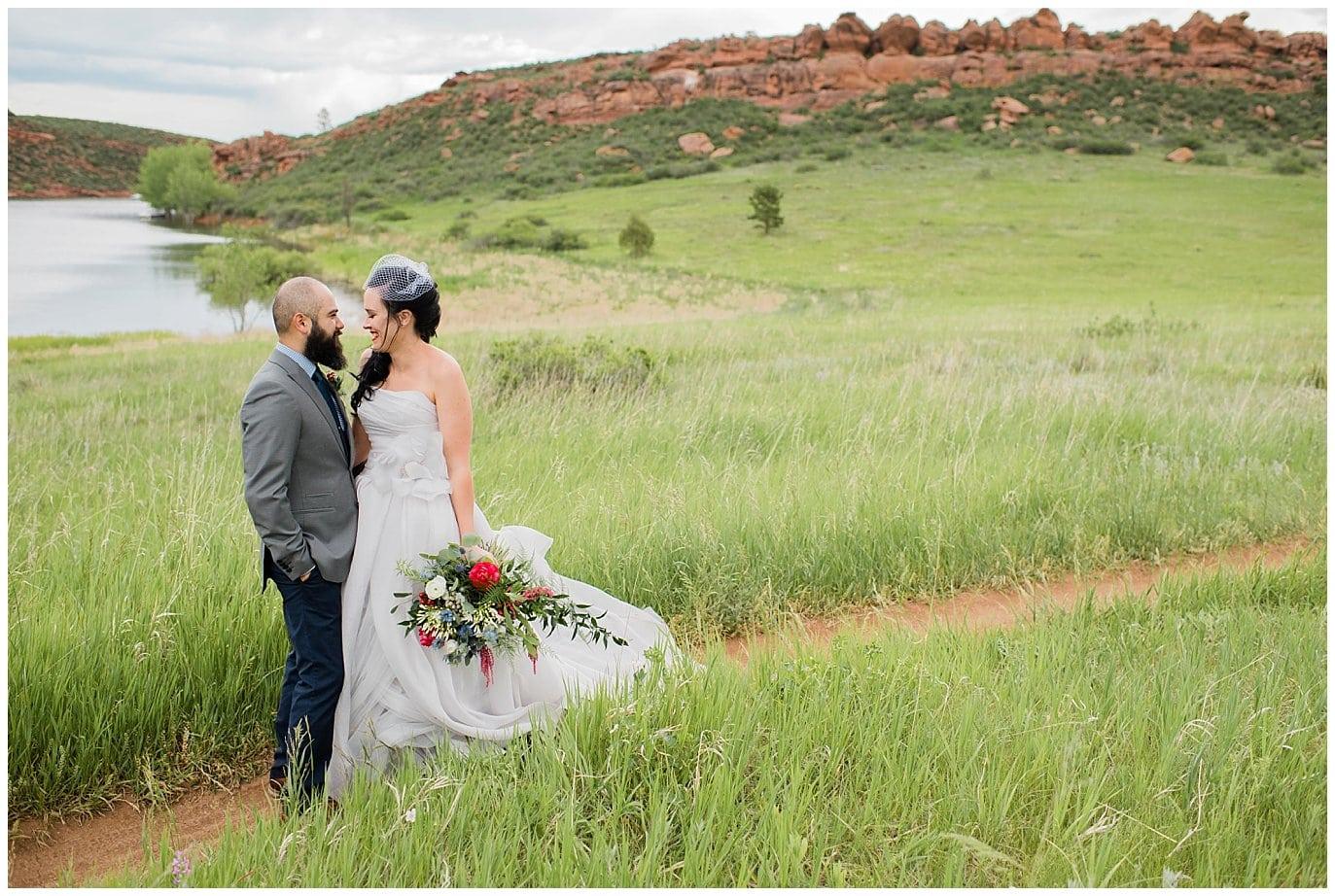 Lory State Park wedding photo