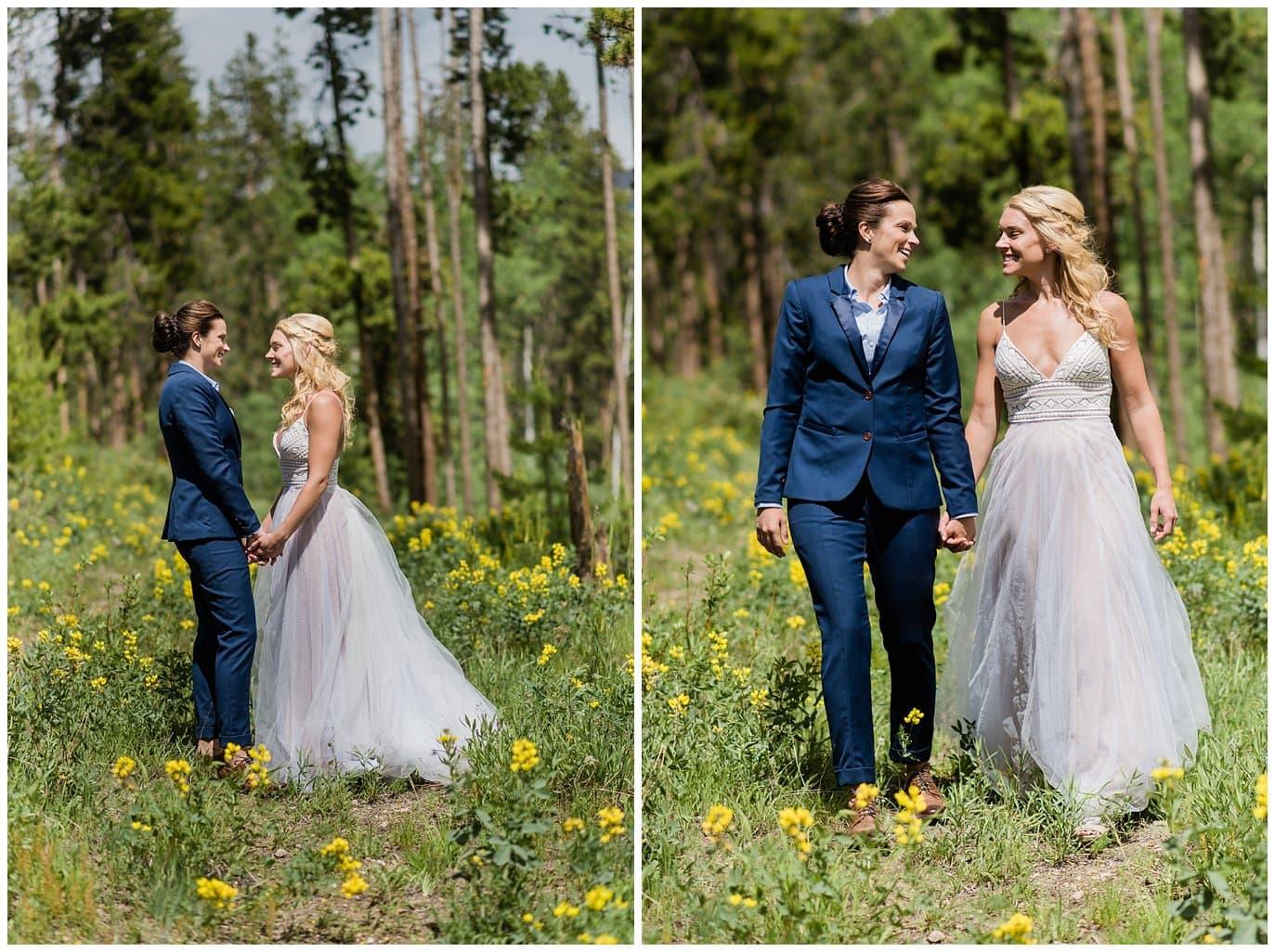 Winter Park intimate wedding photo