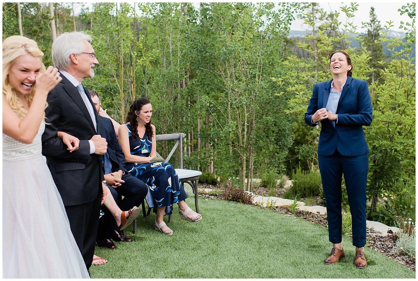emotional brides private home wedding photo