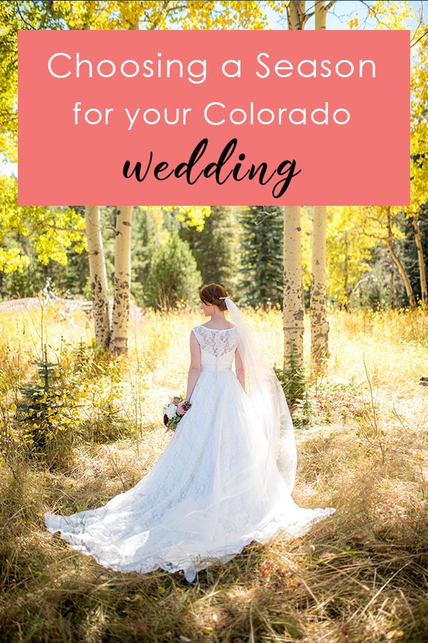 Choosing a Season for your Colorado wedding Colorado Wedding Planning Resources by Colorado Wedding photographer Jennie Crate