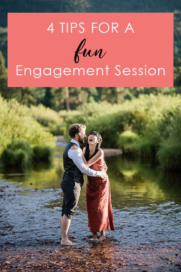tips for a fun engagement session Colorado Wedding Planning Resources by Colorado Wedding photographer Jennie Crate