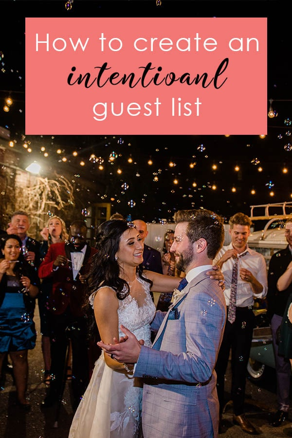How to Create an Intentional Guest List Colorado Wedding Planning Resources by Colorado Wedding photographer Jennie Crate