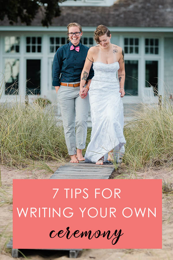 7 Tips for Writing Your own Ceremony Colorado Wedding Planning Resources by Colorado Wedding photographer Jennie Crate