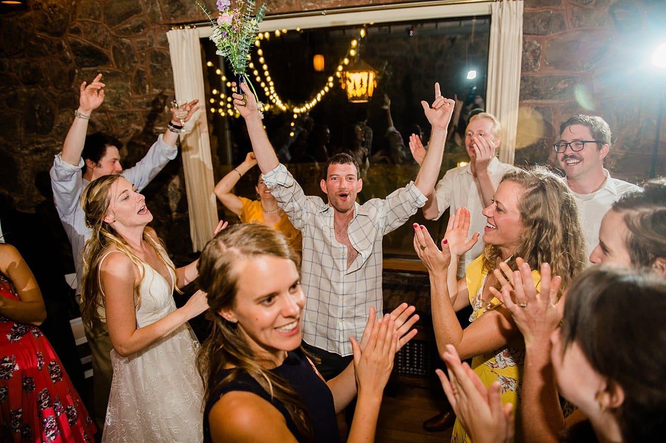 dance party at Boettcher Mansion wedding