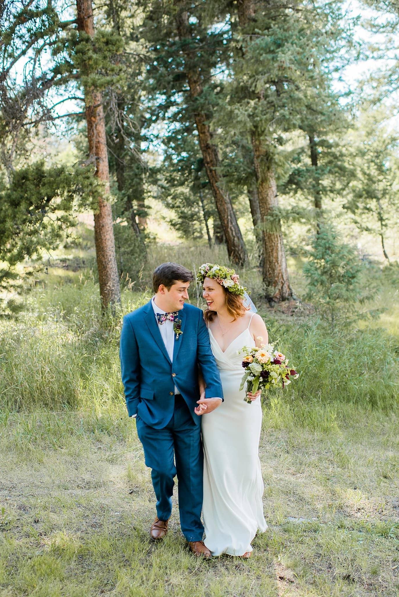 wildflower wedding inspiration wedding photo