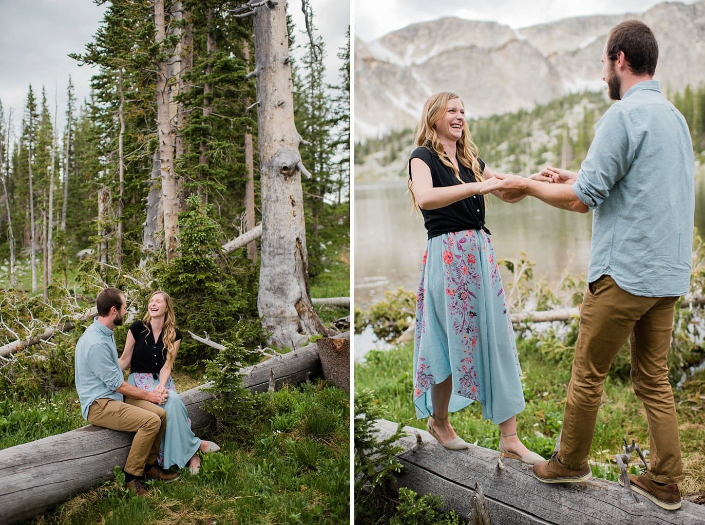 Laramie Wyoming engagement photo