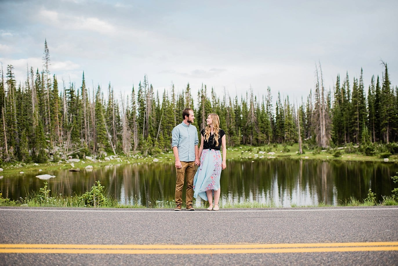 Medicine Bow Engagement photo