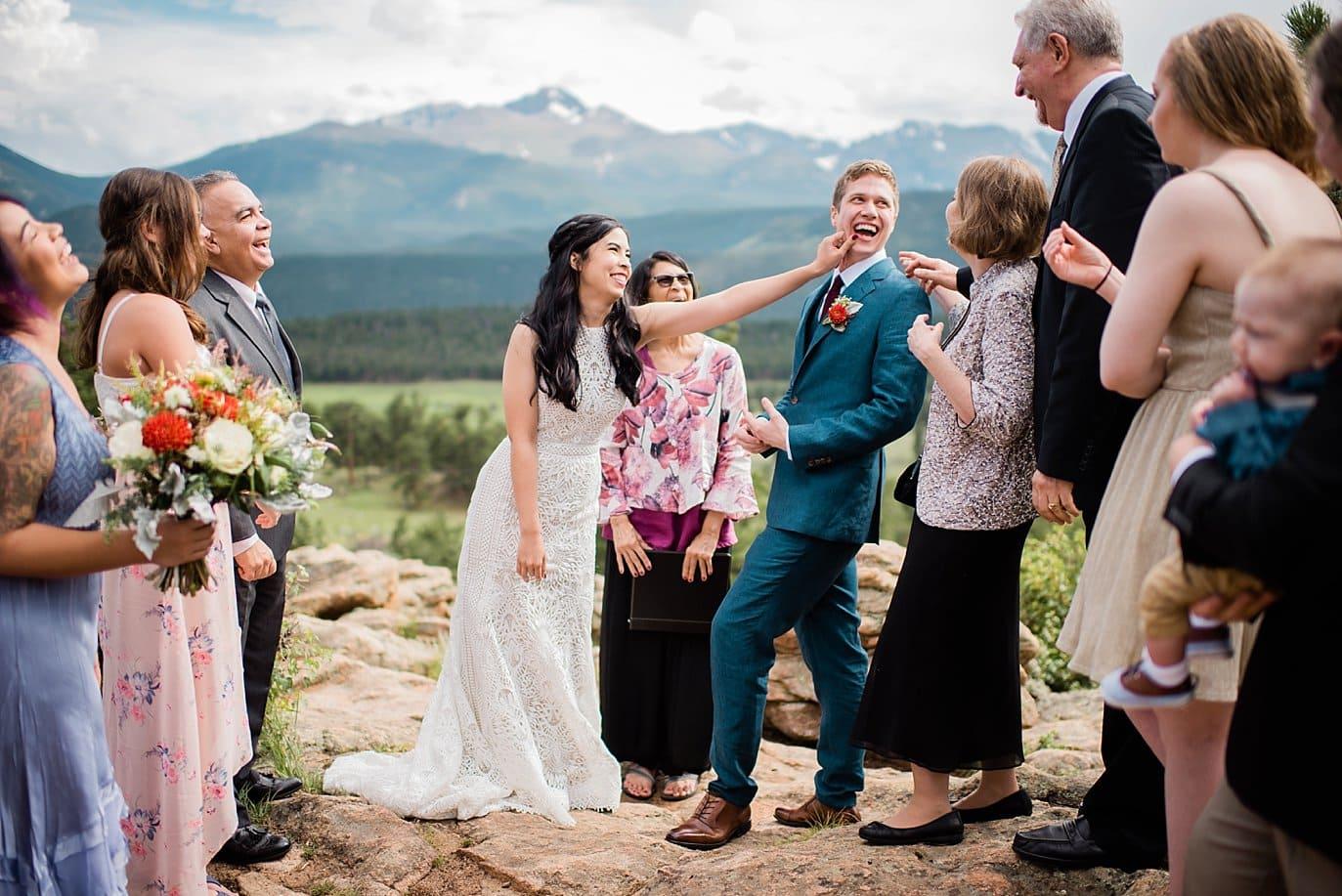 Romantic RMNP 3M Curve Wedding at Rocky Mountain National Park Wedding by RMNP Wedding Photographer Jennie Crate