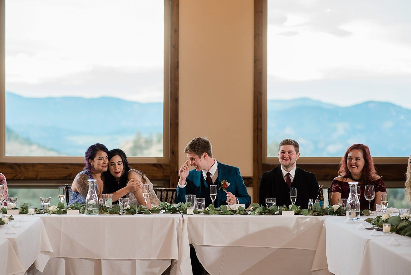 toasts Rocky Mountain National Park 3M Curve wedding by RMNP Wedding Photography Jennie Crate