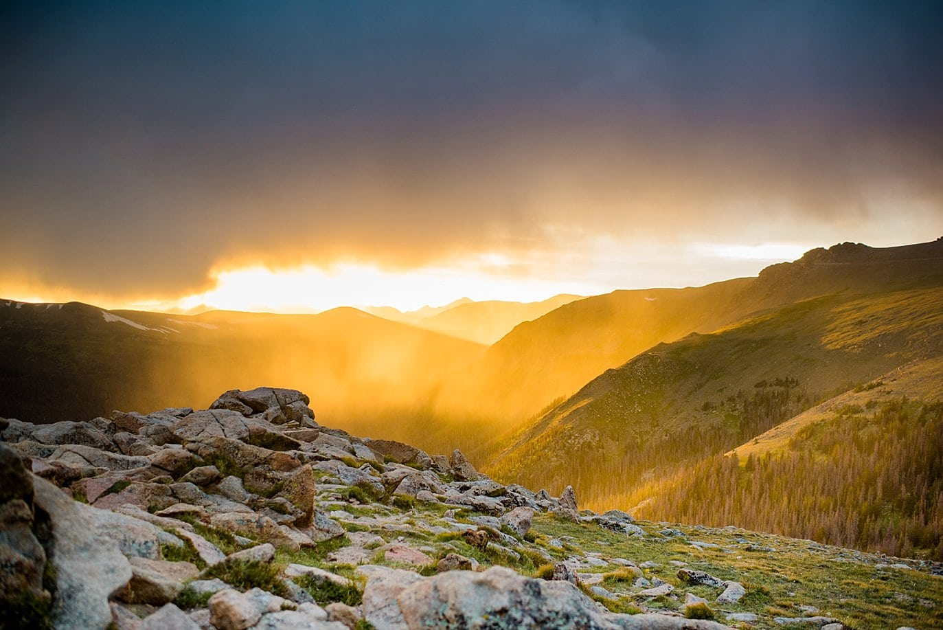 RMNP sunset photo