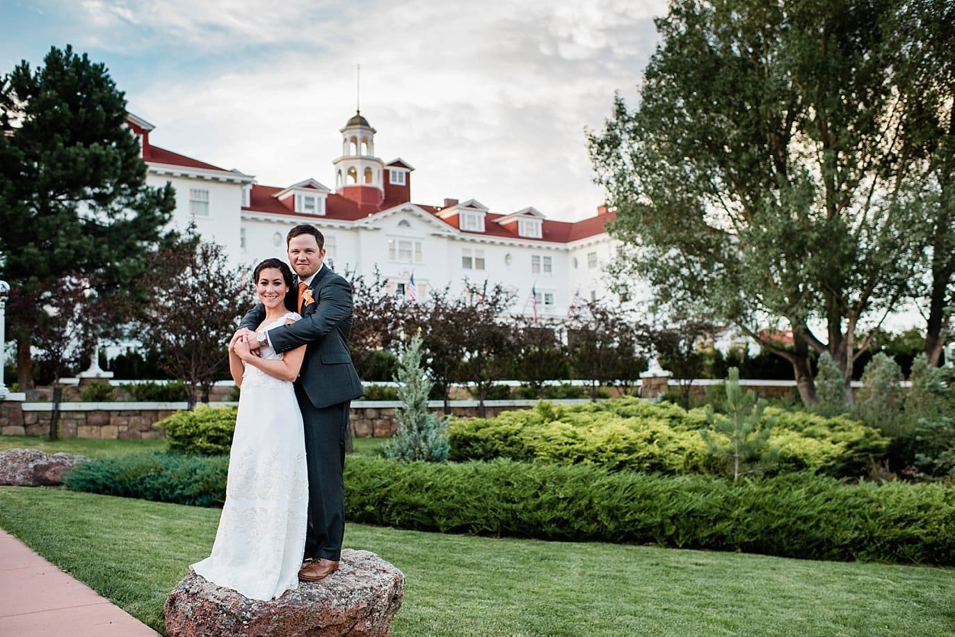Stanley Hotel Estes Park wedding photo