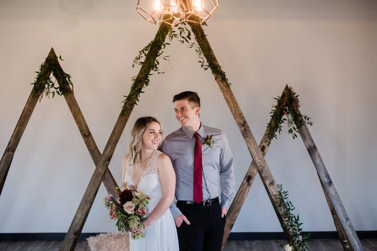 Northgate Event Center Wedding | Bold Winter Inspiration Shoot
