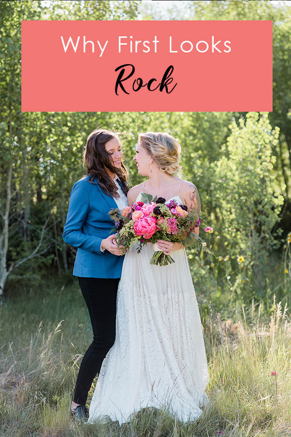 6 Reasons First Looks Rock by Denver Wedding Photographer Jennie Crate