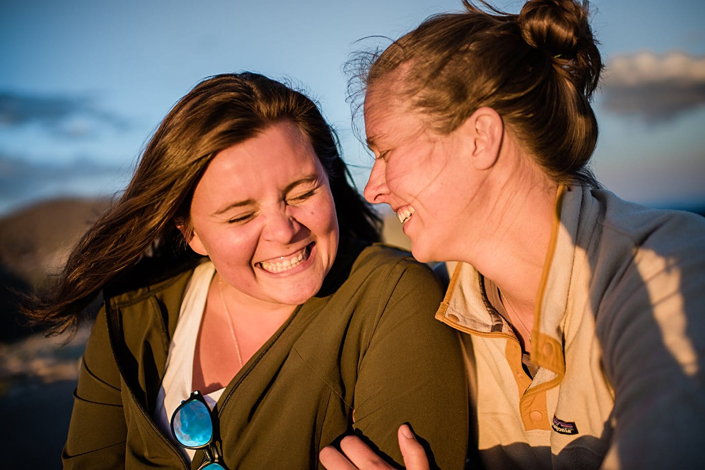 LGBT engagement at Rocky Mountain National Park engagement session by Colorado Gay Wedding photographer Jennie Crate