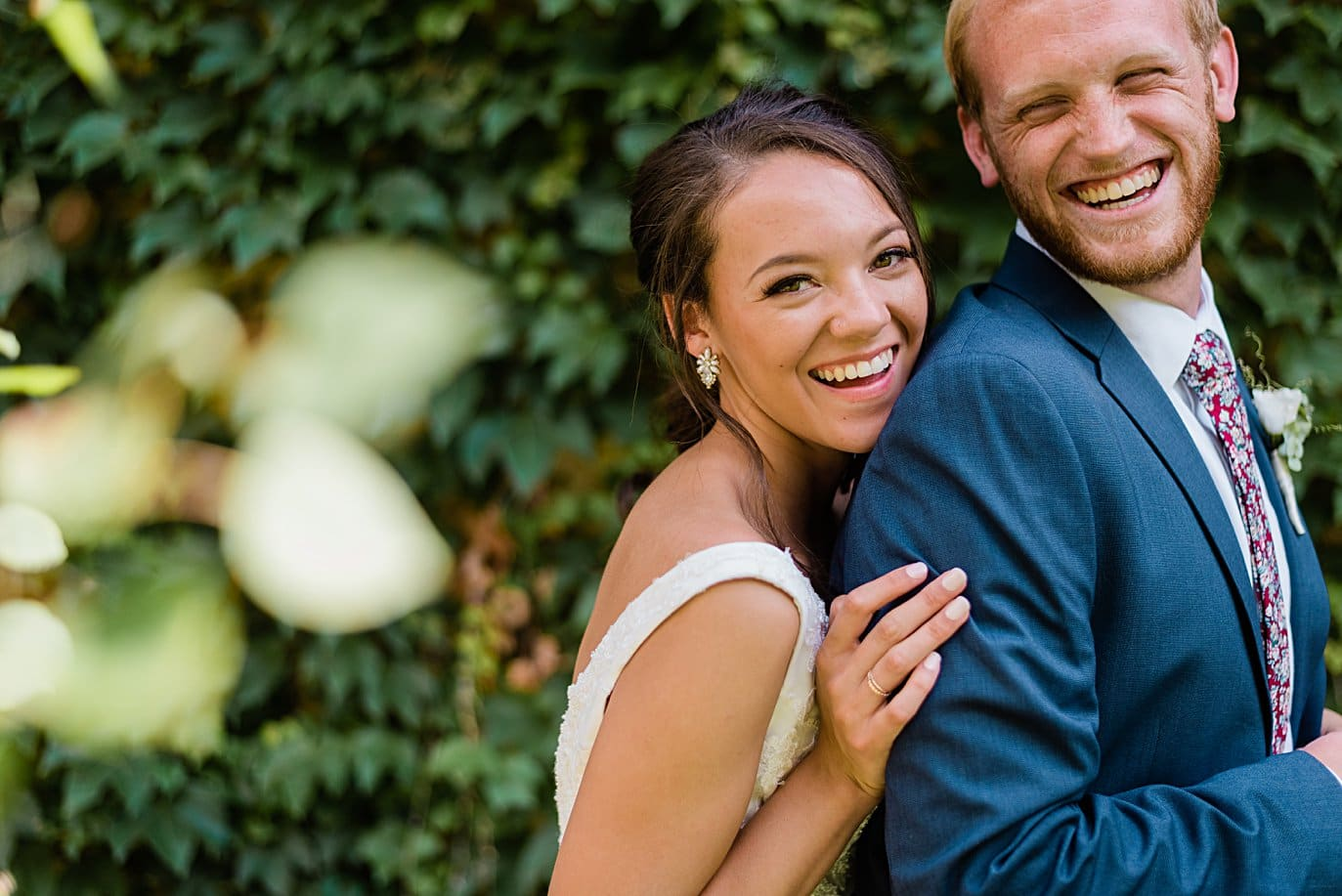 cute couples photos by ivy wall at Walker Fine Art Gallery Wedding by Fort Collins Wedding Photographer Jennie Crate