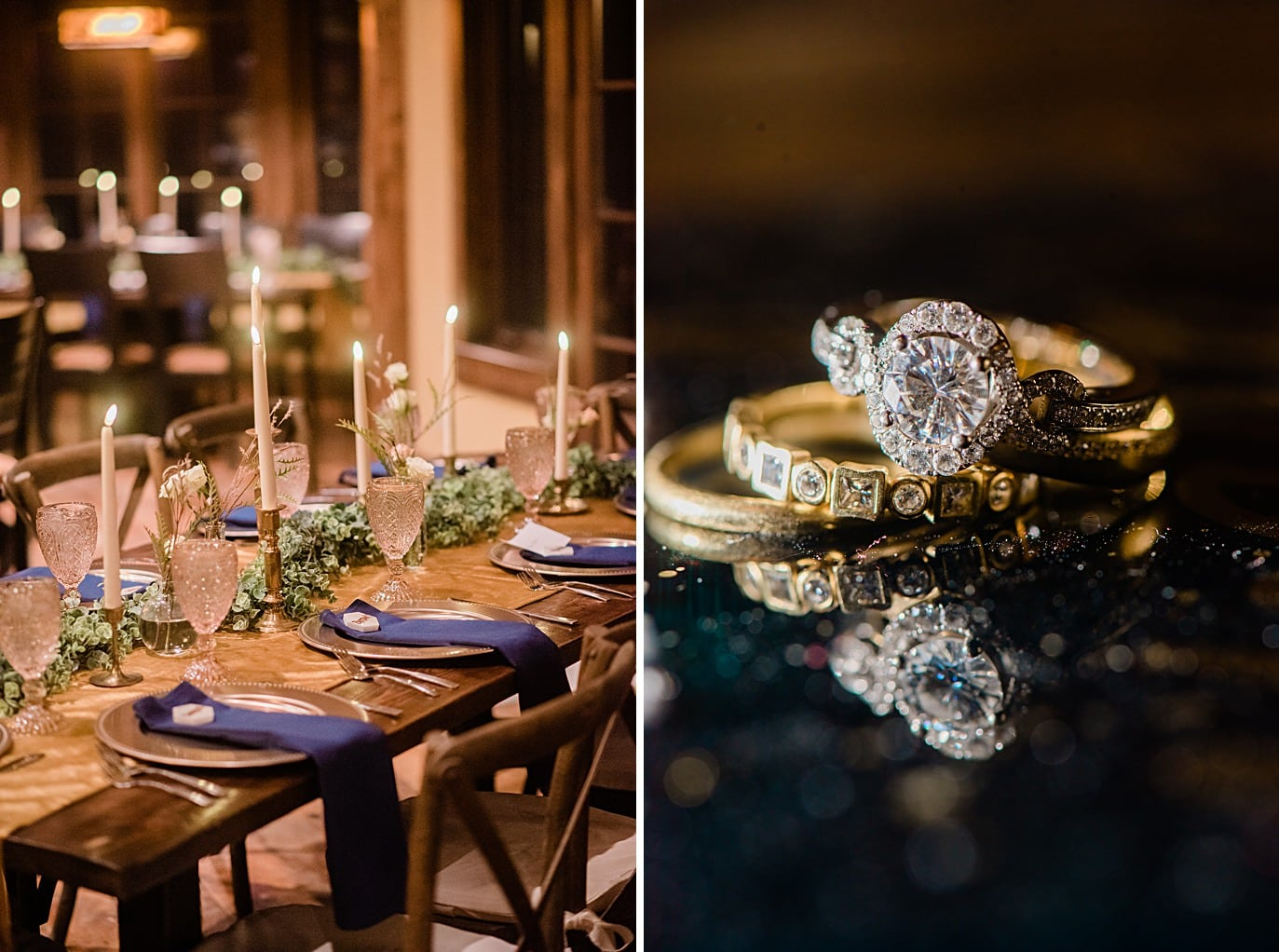 intimate meal at private reception two brides along Boreas Pass road at Breckenridge microwedding by Breckenridge wedding photographer Jennie Crate