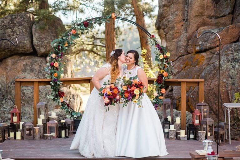 Traditional Native American Wedding Ceremony in Colorado | Teresa and Ashley