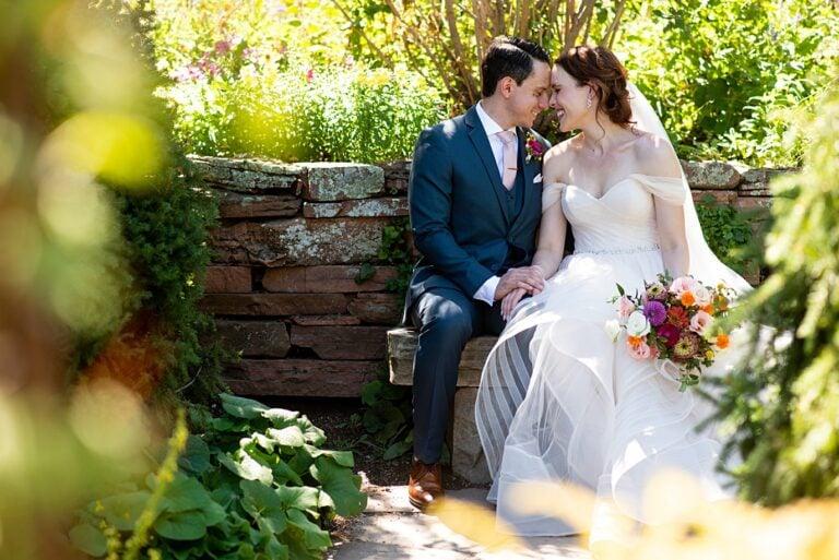 A Vibrant Microwedding in a Garden | Amanda and Juan