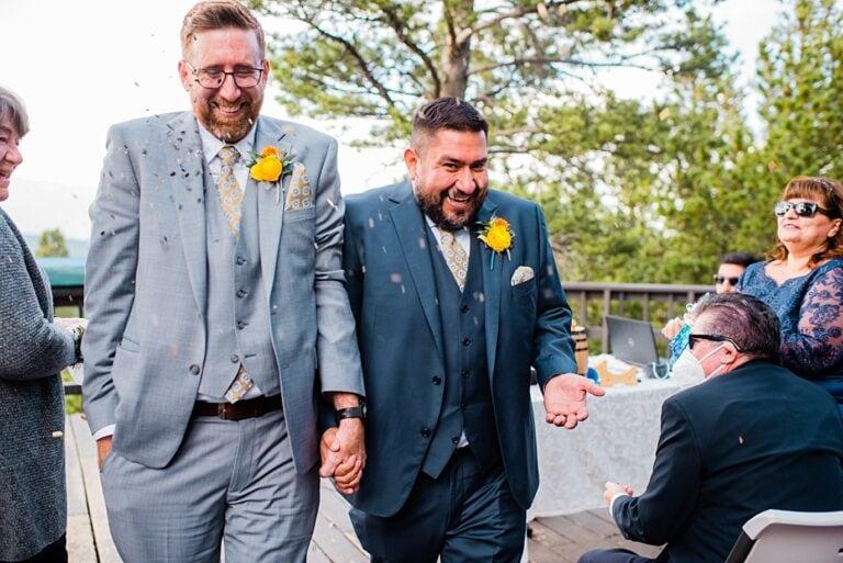 Golden Gate Canyon Wedding | Eric and Matt