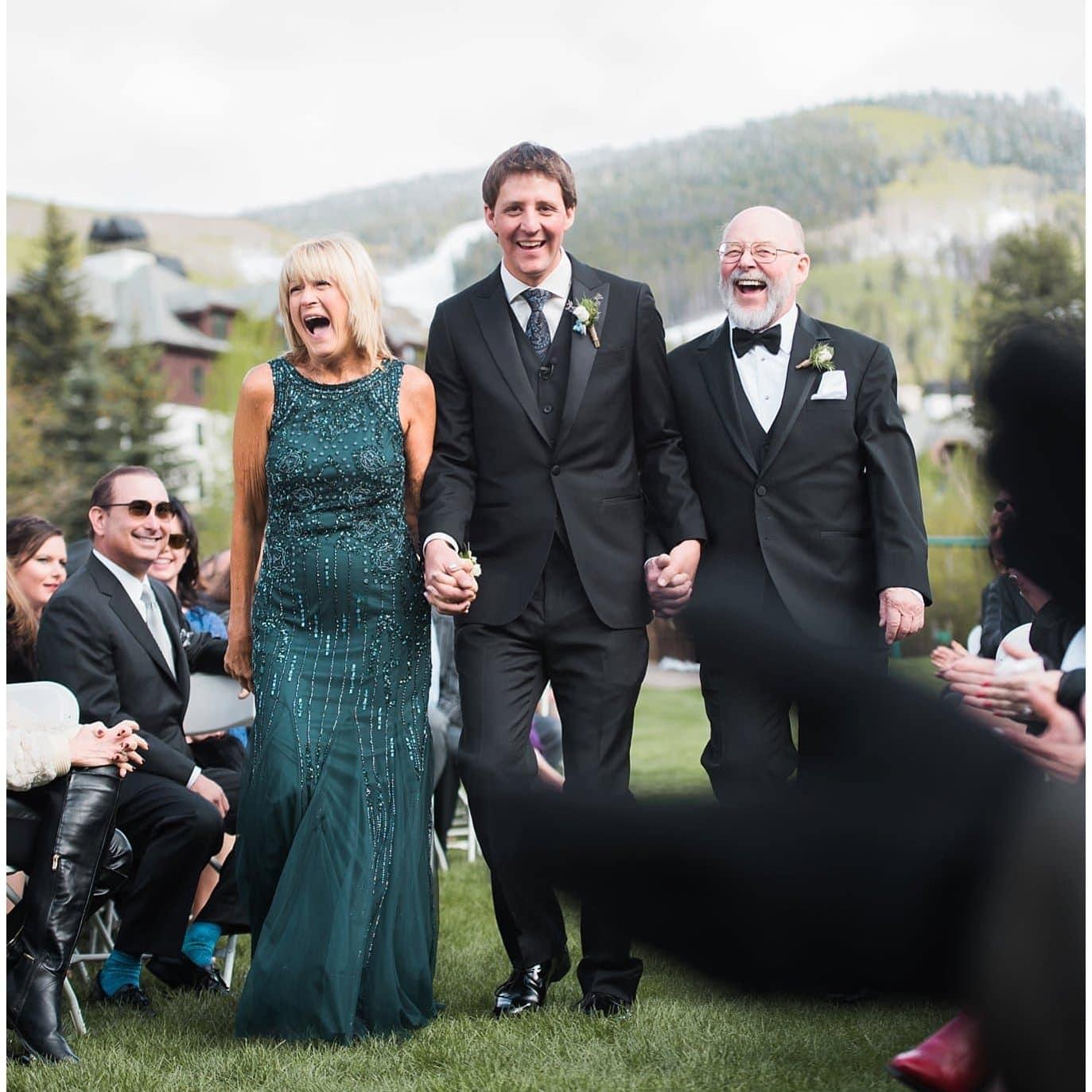 Park Hyatt Beaver Creek wedding photo