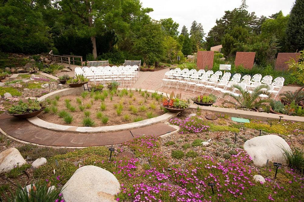 South African Plaza ceremony at the Denver Botanic Gardens