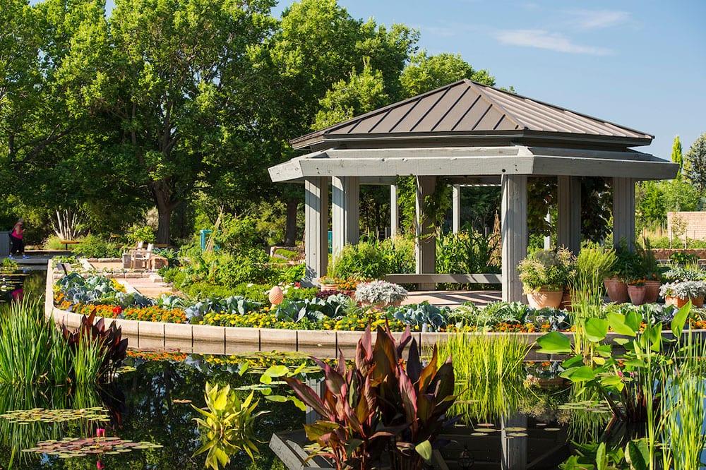 Water Garden Gazebo at the Denver Botanic Gardens